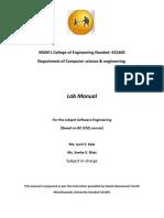 SE Lab Manual