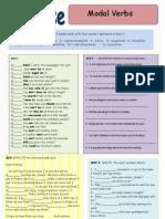 2 - Work – Modal verbs (2)