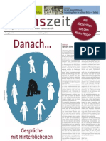 lebenszeit - Zeitung für Diskurs & Ethik am Lebensende - Ausgabe #4 - Danach... Gespräche mit Hinterbliebenen