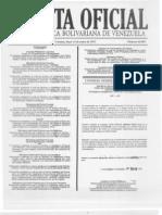 GACETA OFICIAL N° 40.089 del 14 de enero de 2013