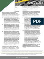 Tax Alert-Resolución de la Superintendencia de las Instituciones del Sector Bancario