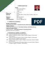 Curriculum Marcos Quevedo