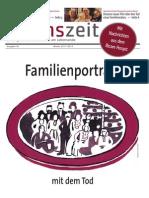 lebenszeit - Zeitung für Diskurs & Ethik am Lebensende - Ausgabe #3 - Familienporträts mit dem Tod