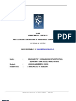 bases administrativas municipalidad de chile