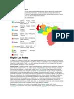 regiones politico