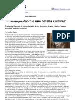 Sandra Chaher__entrevista__christian Ferrer__el Anarquismo Fue Una Batalla Cultural