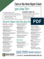 Interdistrict Magnet School Open House Dates 2013