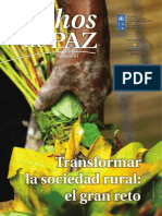 Revista Hechos de Paz (Transformar la sociedad rural) No. 64 (2)