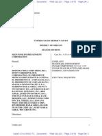 Slep-Tone Entertainment Corporation v. Dennys #7835, et al