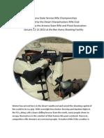 2013 AZ State Service Rifle Championships