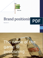 Brand Positioning