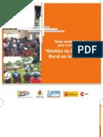 """Guía metodológica para formación en """"Gestión de la extensión rural en la práctica"""""""