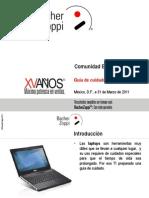 Guía de cuidado de laptops