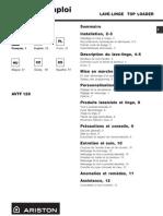Ariston AVTF129 Manual
