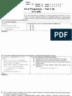 [InfoIasi][FII][AP] Model examen partial (nov. 2008 - A)