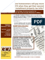 SAVE MORE PROPERTY TAX MONEY WITH GCA