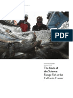 The State of the Science - Forage Fish in the California Current.