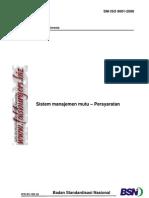 SNI ISO 9001 2008