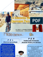 CONFERENCIA EDUCACION DESEADA