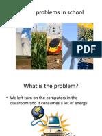 energy problems in school
