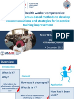 A New Framework for Efficient, Effective and Sustainable In-Service Training Systems