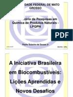Palestra Paulo Teixeira UFMT