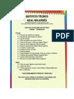 Listado de útiles y textos escolares 2013