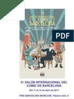 Dossier 31è Saló del Còmic de Barcelona