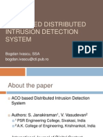 Ant Colony Optimization Based Distributed Intrusion Detection System