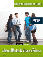 Brochure masters et MS