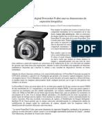 La nueva cámara digital Powershot N abre nuevas dimensiones de expresión fotográfica