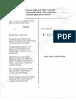 IN 2013-01-14 - Guthrie v USA et al Complaint