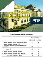 Romania- Situatia sistemului bancar