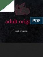 Adult origami
