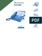 Manual Alcatel 4038/4039/4068