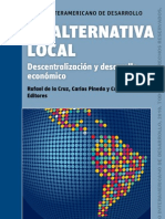 La alternativa local descentralizacion y desarrollo economico