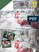 pp (parto prematuro) y rpm (ruptura prematura de membranas)