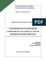 CONCEPTION D'UN SYSTEME DE COMPTABILITE