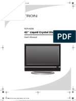 PLTV-4250 User Manual
