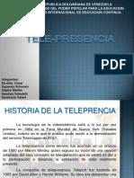Exposición Telepresencia Equipo 1 Sección M