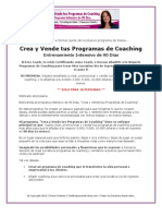 Programa Crea Vende Coaching
