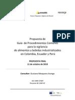 4.1 Propuesta Guía Procedimientos Comunes Vigilancia de Alimentos y Bebidas Industri.pdf
