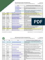2015 Calendar of Genealogy Events