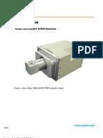 Gatan 806 HAADF STEM Detector