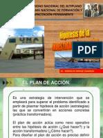 FORMULACIÓN DE HIPOTESIS INV. ACCIÓN PRONAFCAP 2012