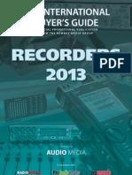 Recorders 2013