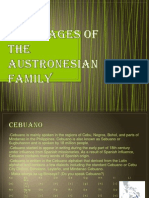 Languages of the Austronesian Family