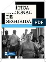 Politica Nacional de Seguridad - Guatemala
