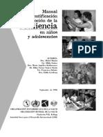 Resiliencia en niños y adolescentes