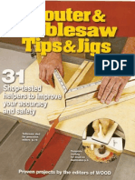 Wood Magazine Router and TableSaw Tips